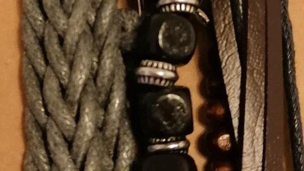 Bracelet - Grey Lattice
