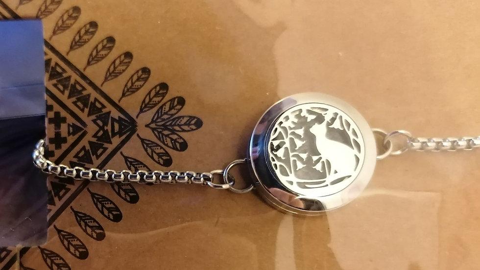 Adjustable Aromatherapy Diffuser Bracelet