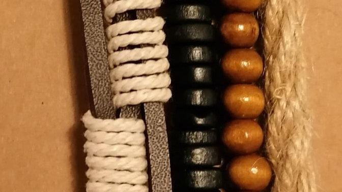 Bracelet - Brown Bead