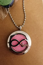 Infinity Love diffuser necklace.JPG