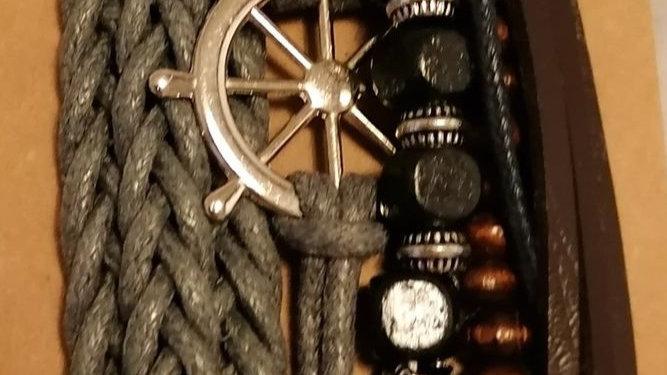Bracelet - Wheel Charm