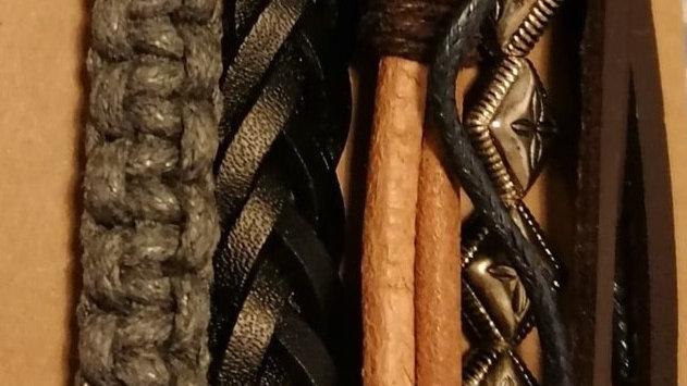 Bracelet- Brown Whip