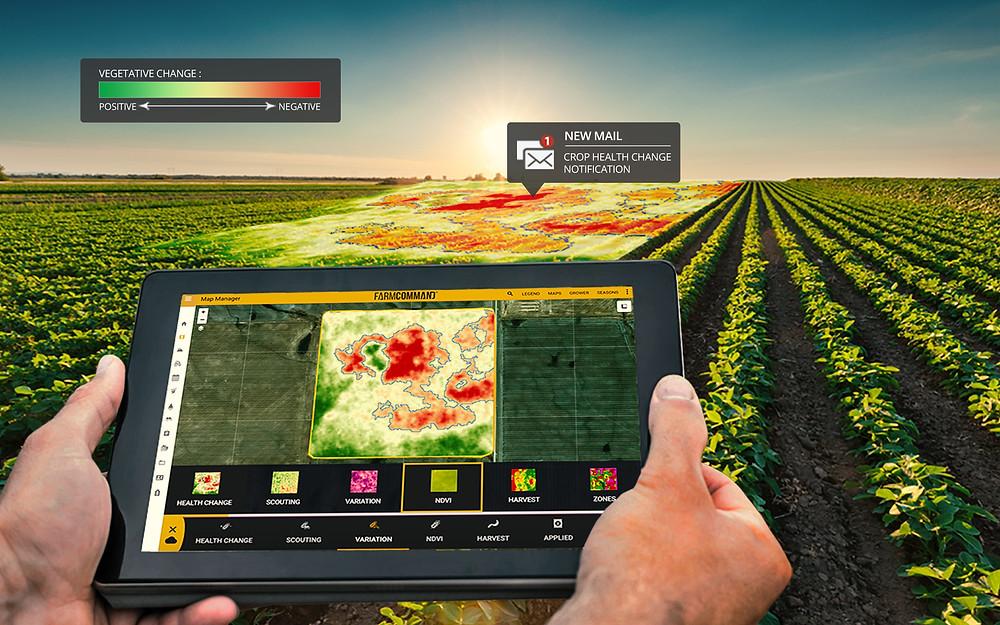 La agricultura digital. En tiempos de pandemia la tecnología puede ...