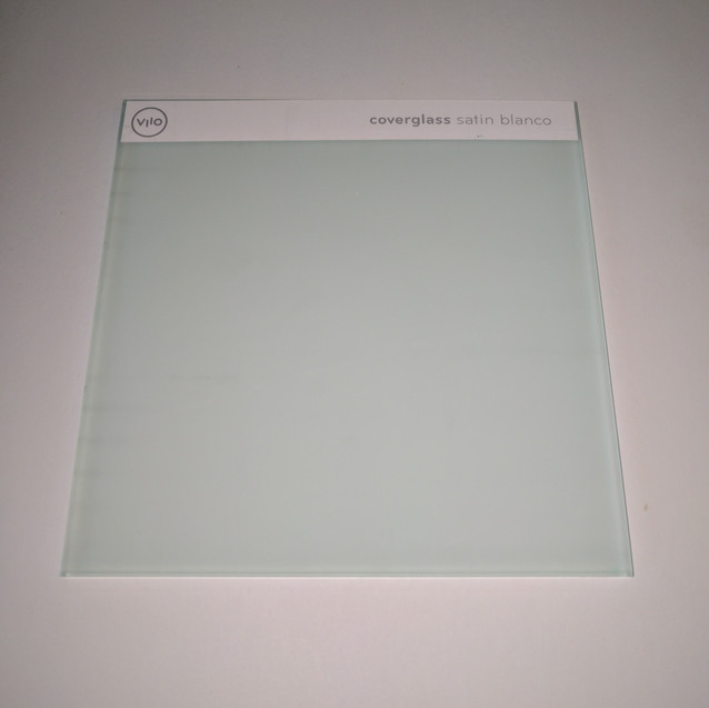 Coverglass Satin Blanco