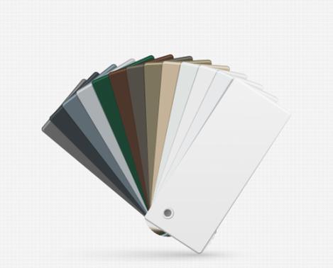 Colores Puntura Aluminio