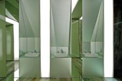 Uso de CoverGlass en un Baño