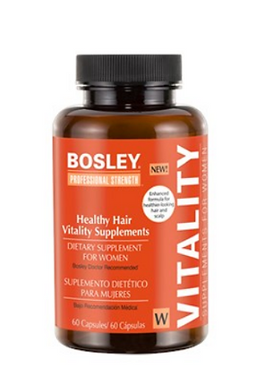 Healthy Hair Vitality Supplement for Women by Bosley