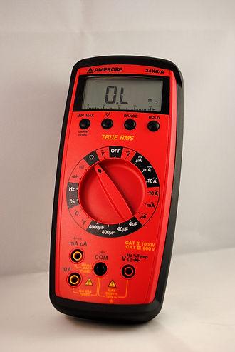 Multimetro 34XR-A