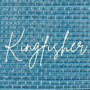 Kingfisher Blue - Peacock - Dark Turquoise Colour for bespoke Ladies Hats from Marvellous Millinery, Winchester Hampshire UK.