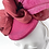 Thumbnail: Magenta and Claret 'Big Bow' Cocktail Hat