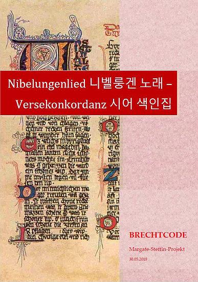 Nibelungenlied - Versekonkordanz+ mhd. Text