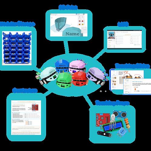 TestMega-Bot Classroom Set 12