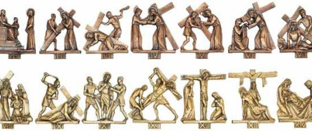 Stations of the Cross During Lent: Wednesdays at 5:00 PM