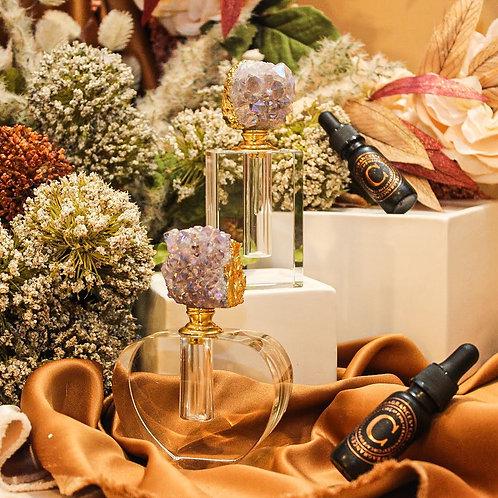 Amethyst Perfume Bottle