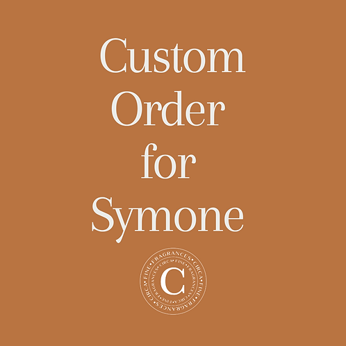 Custom order for Symone