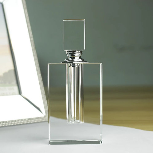 Rectangle Glass Bottle & 15 ml Fragrance