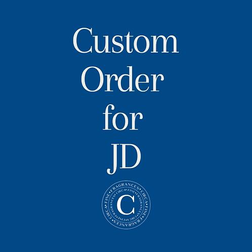 Custom order forJD