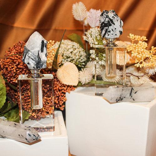 Tourmaline Quartz Perfume Bottles