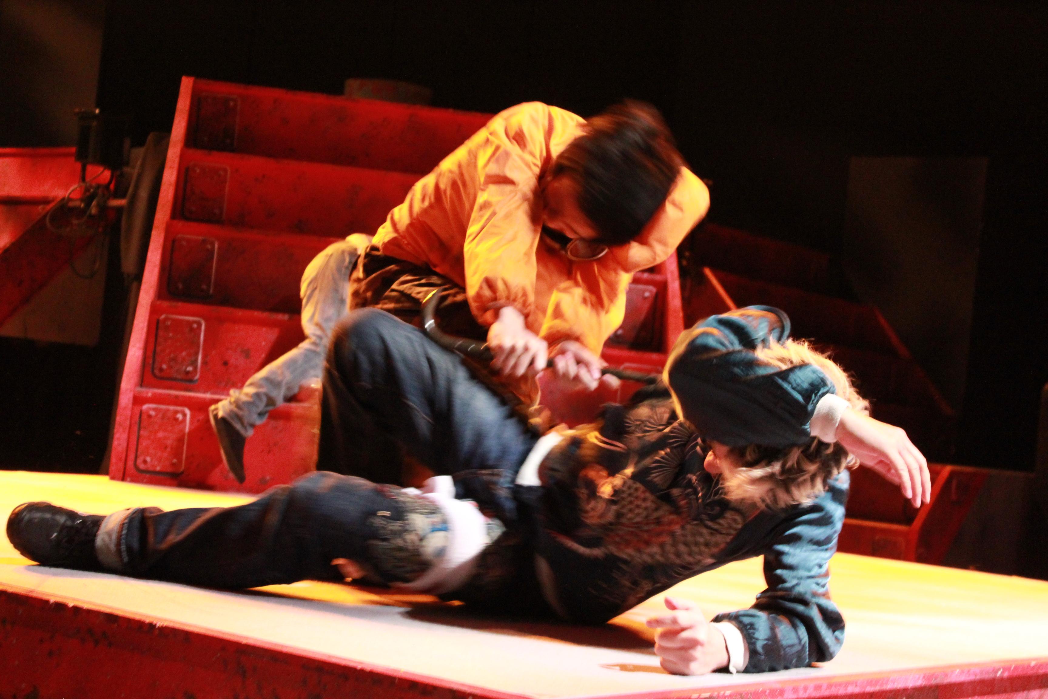 2013年3月 オレンヂスタ第伍戒公演『犬殺しターくんと非実在チーちゃん』02