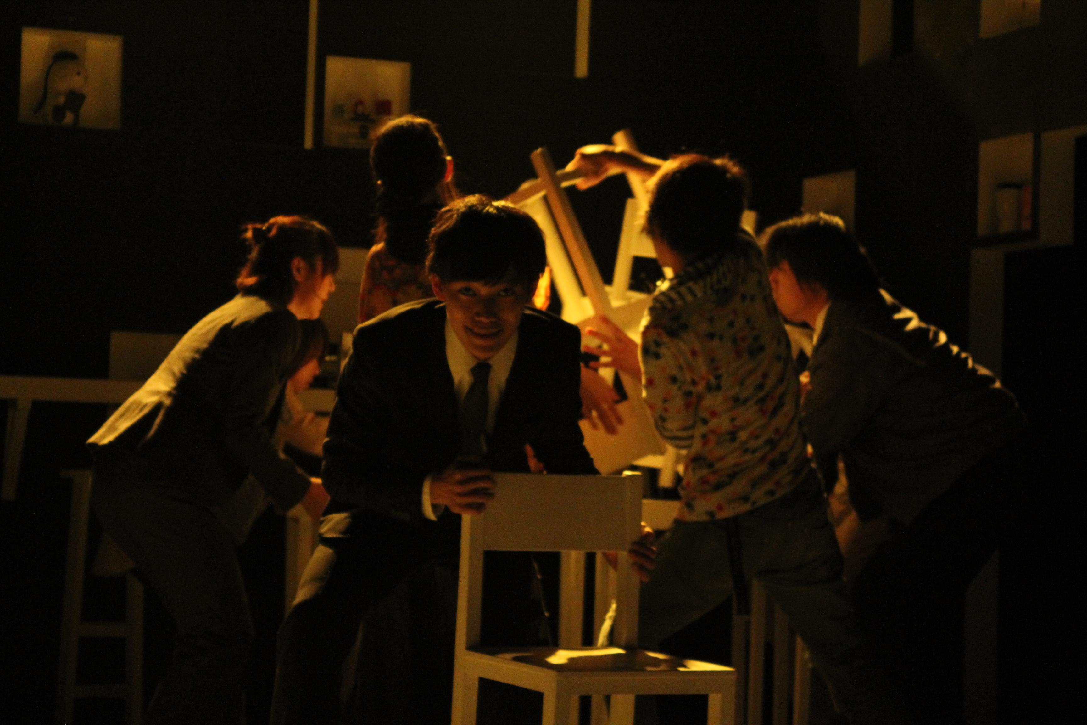 2014年9月 オレンヂスタ 第六回公演『白黒つかない』02