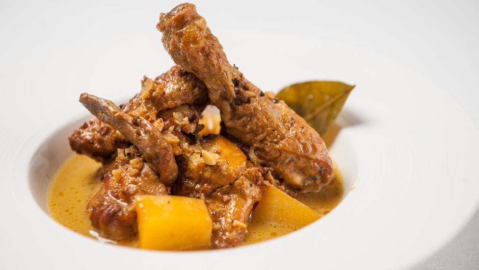 Golden Chicken Adobo Recipe