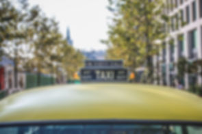 Taxi or rideshare to the Hostel