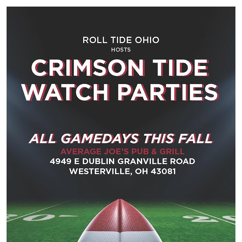 Roll Tide Ohio Watch Party - Season Kick Off