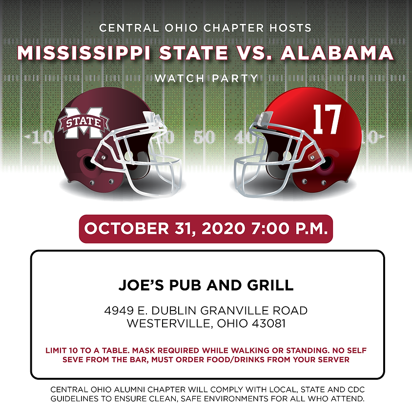 Alabama vs. Mississippi State Watch Party