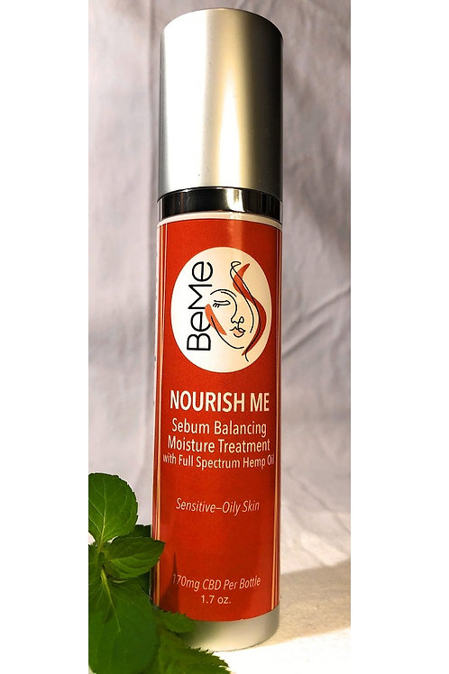 Nourish Me: Sebum Balancing Moisture Treatment - Sensitive - Oily Skin