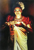 kerala-traditional-lady-with-lamp-digita