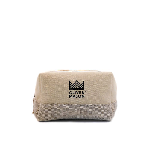 Recycled Cotton Toiletry Bag
