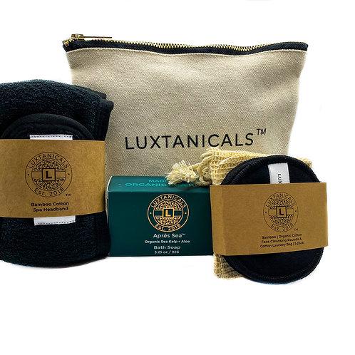 Organic Cotton Travel Bag | Bath Set