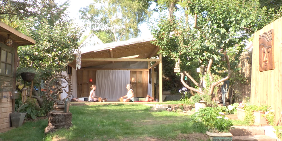 Yoga in the Garden - 3 day event