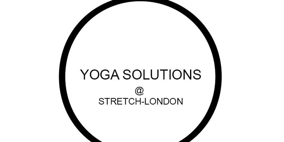 Yoga Solutions Live - a 3hr Workshop @ Stretch, London (1)