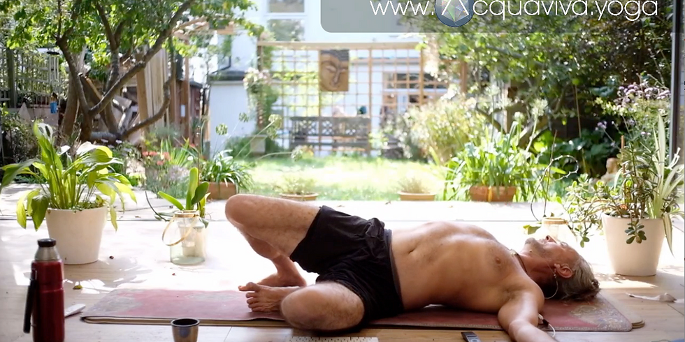 Saturday morning Re-Treat  -  Creating the space to heal II... Neck, shoulders & upper spine