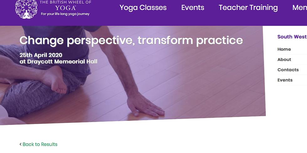 Change Perspective - Transform Practice - ONLINE WORKSHOP