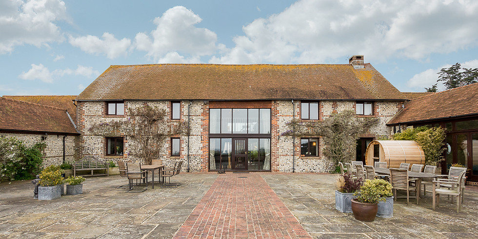 Brooklands Barn - a luxury weekend, full immerion retreat.