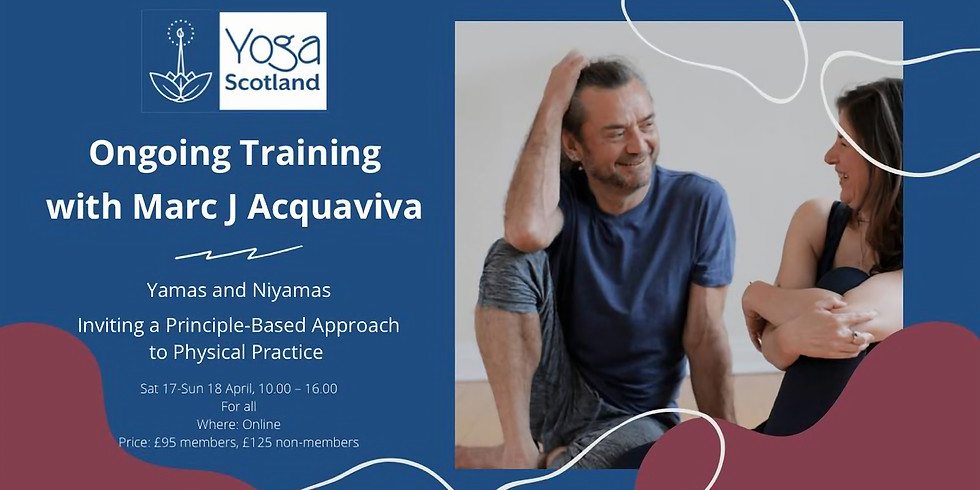 Ongoing Training weekend for Yoga Scotland (all can book)