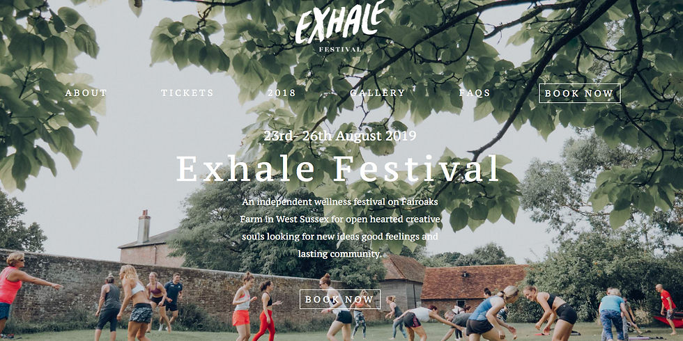 Exhale Festival - Steyning