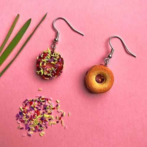 """Donuts earrings/Серьги """"Пончики"""""""