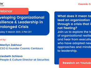 Developing Organizational Resilience & Leadership in a Prolonged Crisis