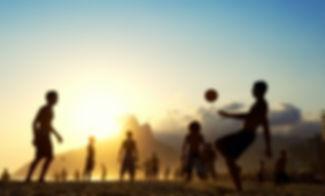 Sunset Fußball