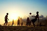 Brazilian beach soccer players