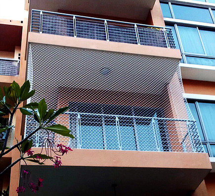 Mesh samples for balconies