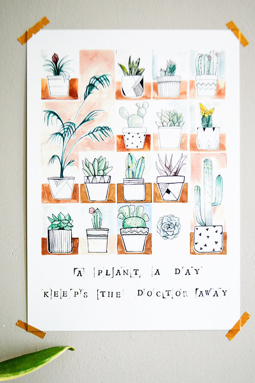 Print A plant a day