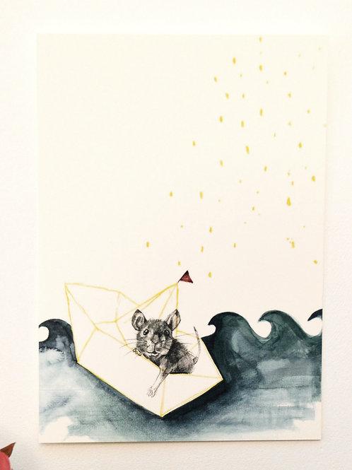 Postkaart sailor