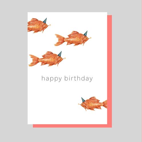 verjaardag postkaart