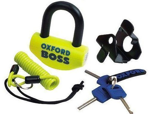 Oxford Boss disc lock yellow OF39