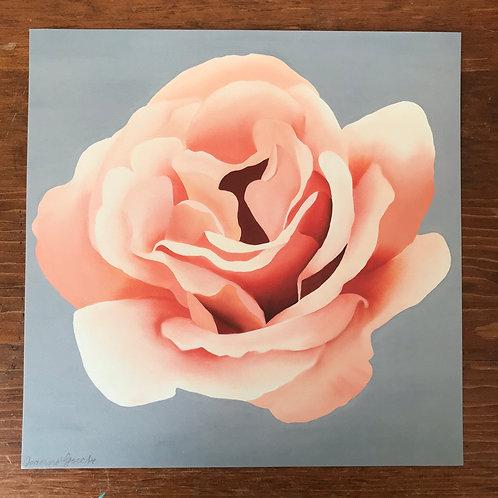 Pink & Grey Print