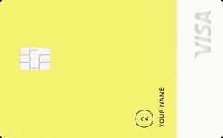 "Petal 2 ""Cash Back, No Fees"" Visa® Credit CardPetal Credit Card"